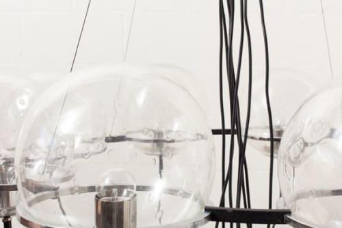 Chandeliers by Amsterdam Modern seen at STUDIO SHAMSHIRI, Los Angeles - RAAK SATURNUS CHANDELIER