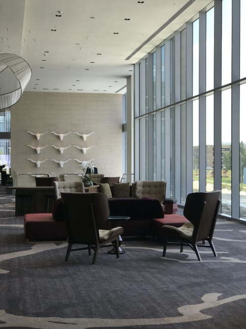 Art Curation by Faulkner+Locke seen at Private Residence, Plano - Renaissance Dallas at Plano Legacy West Hotel