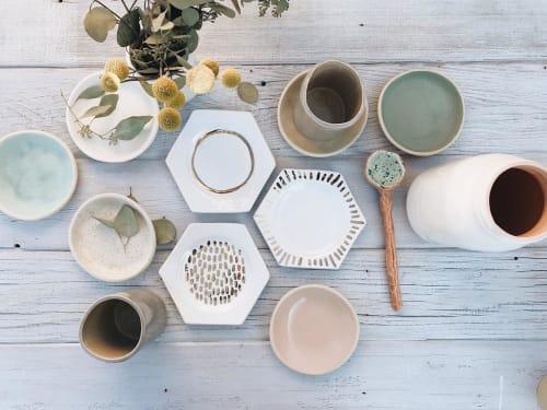 Bridget Dorr - Cups and Ceramic Plates