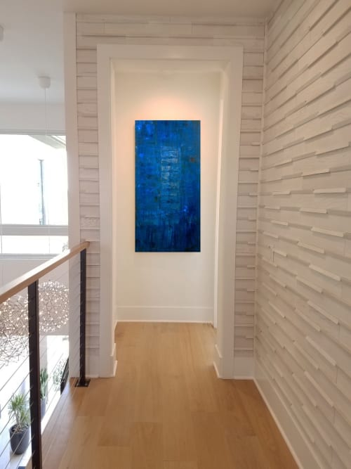 Paintings by Tanya U Lozano Abstract Art seen at Private Residence, Dana Point - Splendor