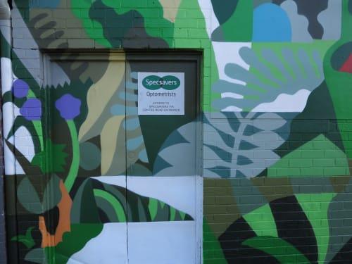 Street Murals by FIKARIS seen at Carnegie, Carnegie - See More