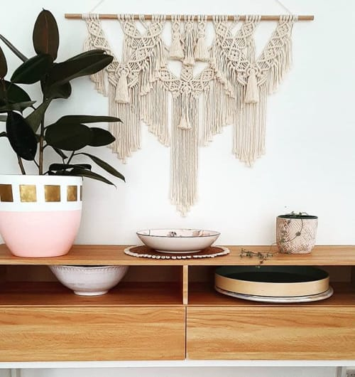 Macrame Wall Hanging by The Knotted Abode seen at Combi Byron Bay, Byron Bay - Cleopatra Wall Hanging