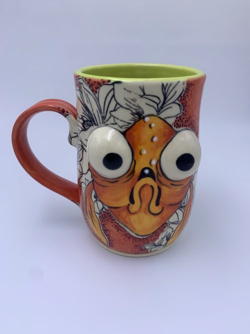 Cups by Bee's Knees Art By Amanda seen at Private Residence, Leavenworth - Ceramic Mug