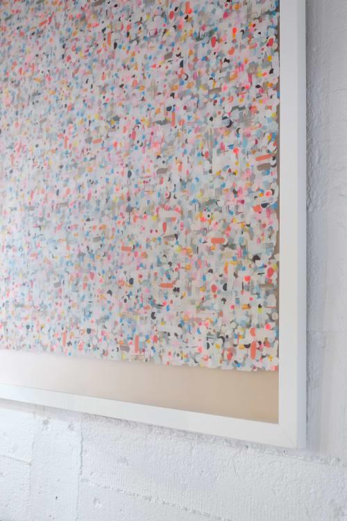 Paintings by Alexandra Weston Art seen at Corcovado Furniture & Homewares, Auckland - Pöttyök 18