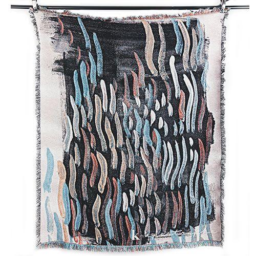 Linens & Bedding by K'era Morgan seen at Private Residence, Los Angeles - Santa Ana Winds