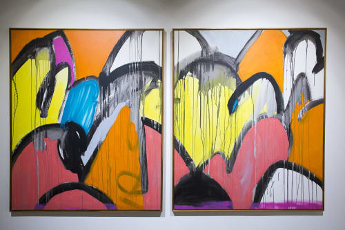 Paintings by Jorge Torres Galvão seen at Salvador, Salvador - Abstract Paintings, several sizes