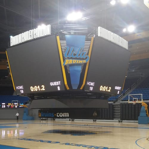 Art & Wall Decor by NKdsgn LLC seen at Pauley Pavilion by Wescom, Los Angeles - Experiential Design