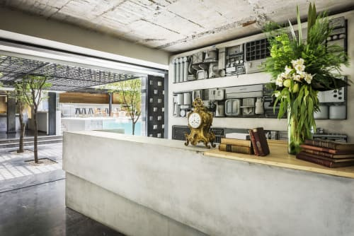 Hotel Carlota, Hotels, Interior Design