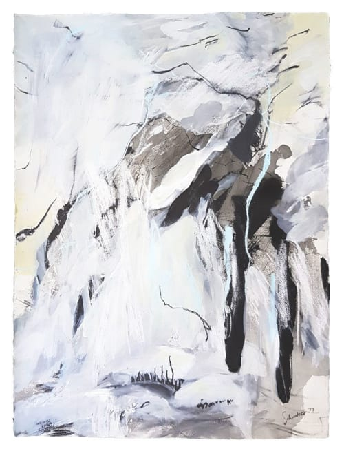 Paintings by Amanda Schunker seen at Paddington Terrace by Darren Palmer, Sydney, Australia, Paddington - Picos Precipice 2