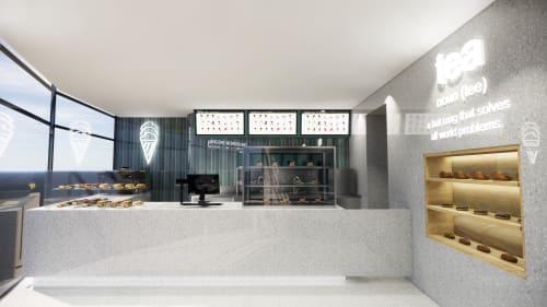 Interior Design by Studio Hiyaku seen at Bengong Aqua - St Leonards, St Leonards - Bengong Aqua