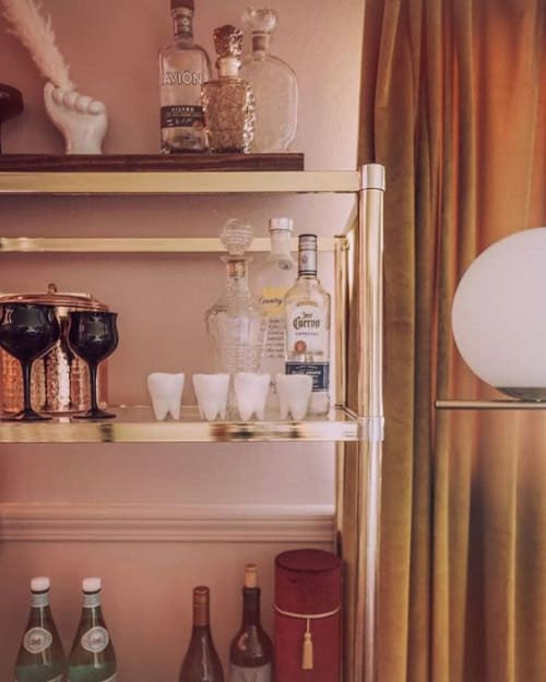 Interior Design by SIND STUDIO seen at Private Residence, Colorado Springs - Porcelain Tooth Shot Glasses