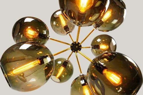 Chandeliers by ILANEL Design Studio seen at ILANEL DESIGN STUDIO, St Kilda - Tree of Light