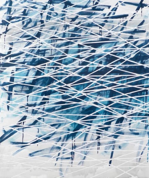 Paintings by David Fredrik Moussallem seen at Private Residence, Lafayette - Solo