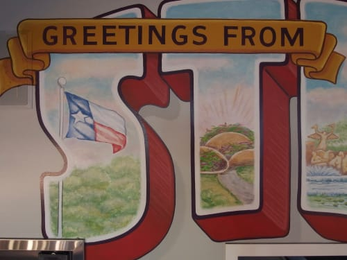 Murals by Riede Signs seen at Stella Taco, Portland - Stella Taco