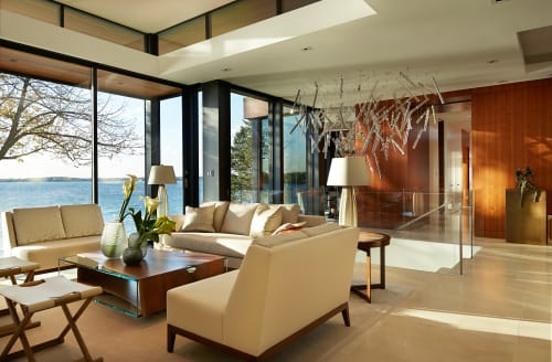 Interior Design by alene workman interior design seen at Private Residence, Minneapolis - Dynamic Lakeside Residence