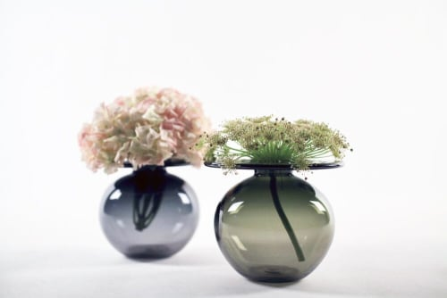 Vases & Vessels by Elizabeth Lyons Glass seen at Private Residence, Rochester - Single Flower Vase