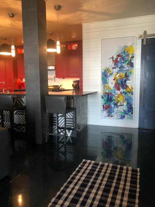 Paintings by Jessica Wachter seen at Private Residence, Detroit Lakes - The Shore