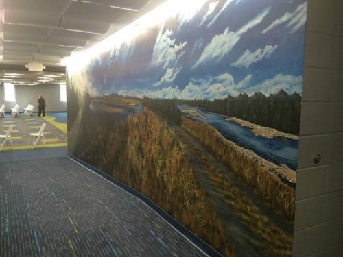 Murals by Decorative Painting by Cassandra Graber LLC seen at Goshen, Goshen - Mural