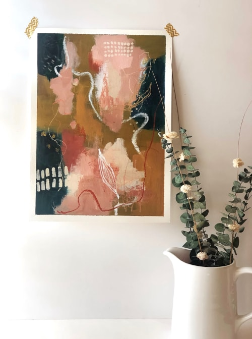 Paintings by Ella Creates seen at Private Residence, Wilmington - Let go and fly