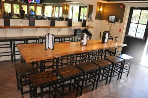 Tables by Stable Tables seen at Brittingham's Pub, Lafayette Hill - Dining Tables