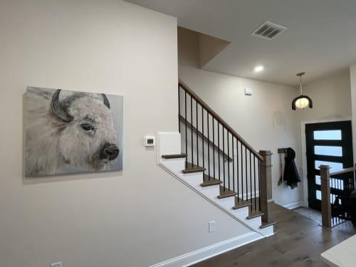 Paintings by Marilyn Landers seen at Private Residence, Atlanta - Kelly Frank