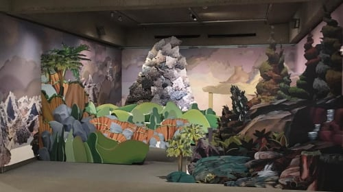 Art & Wall Decor by Mary Anne Kluth seen at Oakland Museum of California, Oakland - Megamatterhorn