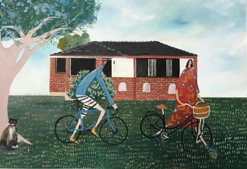 Holly Razavi - Paintings and Art