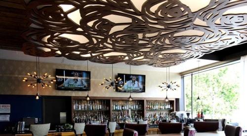 Sculptures by Lightwave Laser at Hotel Rose - A Staypineapple Hotel, Portland - Rose Pattern