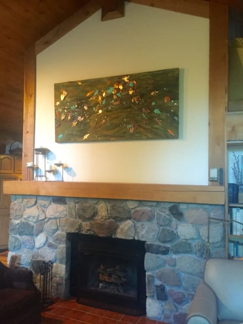 Art & Wall Decor by Paula Bowers Design seen at Private Residence - The River