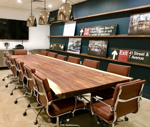 Tables by Doro Designs seen at Goldman Properties, Miami - Conference Table