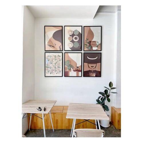 Art & Wall Decor by Nadine Thaslim seen at Bandar Seri Begawan, Bandar Seri Begawan - Coffee Affair