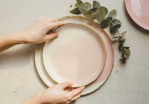 Ceramic Plates by SIND STUDIO seen at Los Angeles, Los Angeles - Porcelain Watercolor Plates