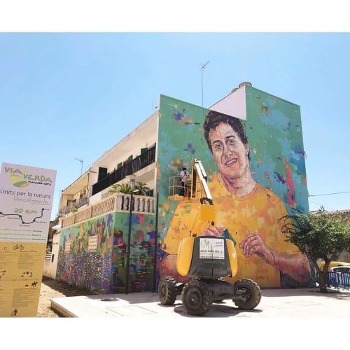 Street Murals by Sath seen at Artà, Artà - Toni Serra