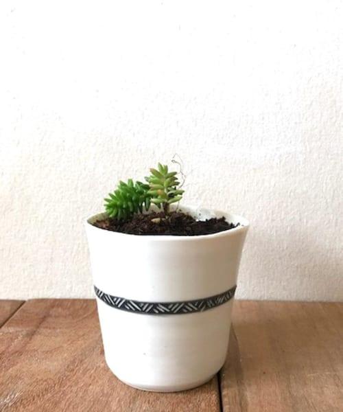 Vases & Vessels by ShellyClayspot seen at Creator's Studio, Kiryat Gat - Small Porcelain Planter