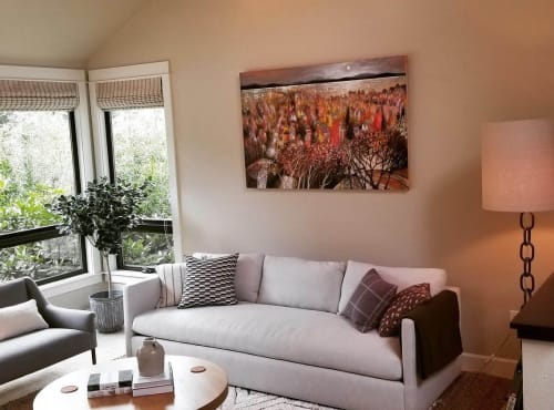 Paintings by BLYTHE SCOTT seen at Private Residence, Seattle - 'Autumn Dreamscape'