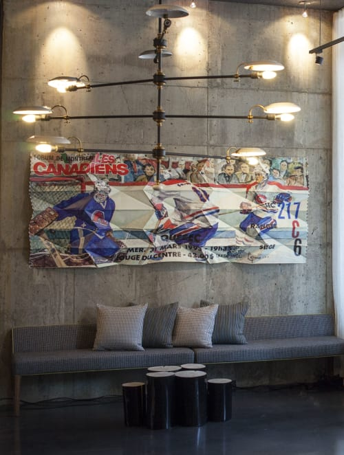 Art Curation by Jason Cantoro seen at Alt Hotel Ottawa, Ottawa - The Paper Trail Series @ Alt Hotel Ottawa