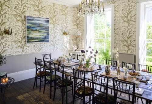 Paintings by Miranda Carter seen at Private Residence, Bath - Downs