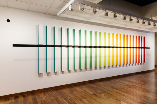 Art & Wall Decor by christopher derek bruno seen at PayPal, San Jose - Interior Installation 10 : Manus Manum Lavat