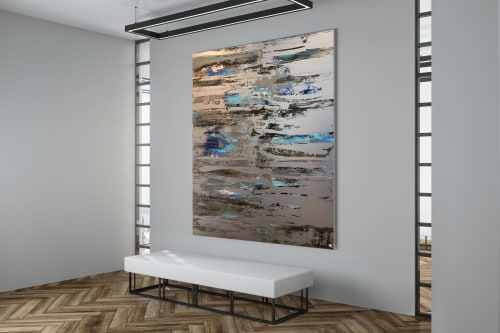 Paintings by Rob Pennino seen at Private Residence, Dubai - Quantum