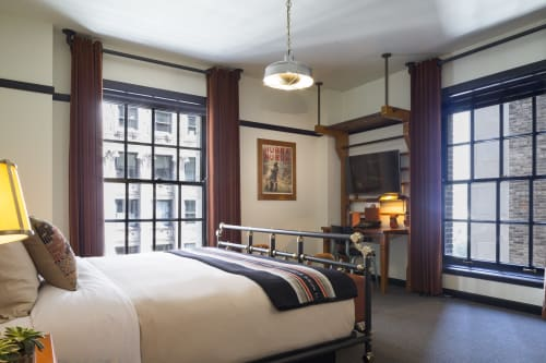 Interior Design by Roman and  Williams seen at Chicago Athletic Association, Chicago - Interior Design