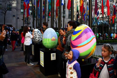 Public Sculptures by Soonae Tark at New York, New York - Fantasia