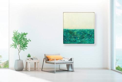 Paintings by Kelly Hanna Studio seen at Creator's Studio, Palm Springs - Ispirato al Vestito