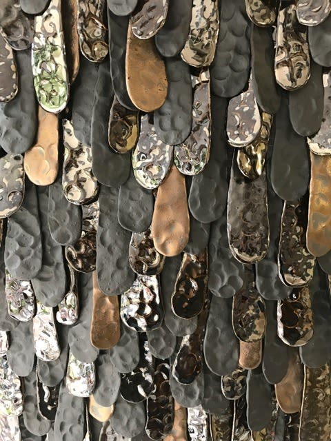 Art & Wall Decor by Sharon Hardy Ceramics seen at Private Residence, Los Angeles - Runoff