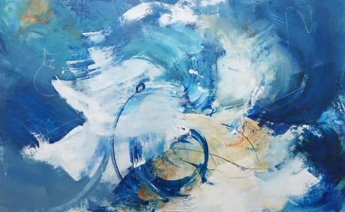 Who Do You Miss When You Are Busy?   Paintings by Lynette Melnyk