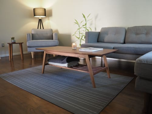 Tables by La Grange Design seen at Private Residence, Eugene - Sepele Coffee Table