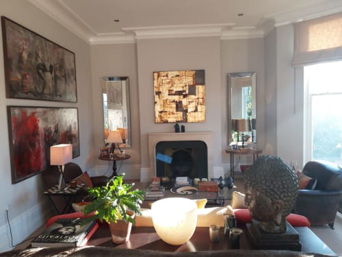 Architecture by Chelsea Davine Artist seen at Private Residence, London - Private Residence 'KINTSUGI'