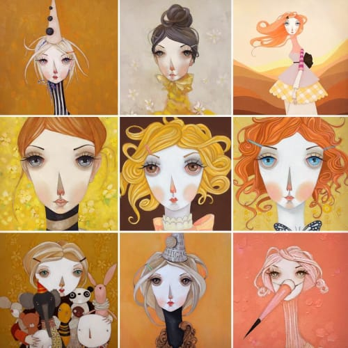 Melissa Peck - Paintings and Art