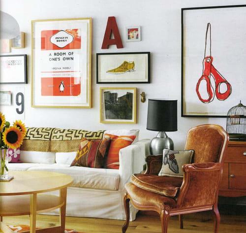 Big Scissors   Art & Wall Decor by Alanna Cavanagh