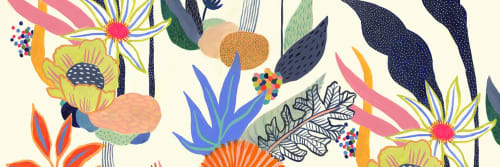Misha Blaise - Paintings and Curtains & Drapes