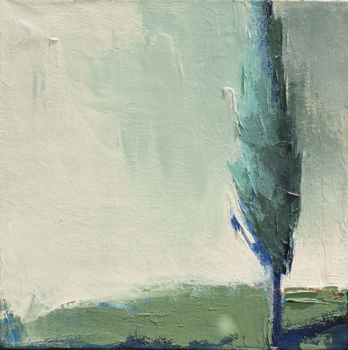 Paintings by Carrie Megan seen at Private Residence, Needham - Grouping of Four Paintings